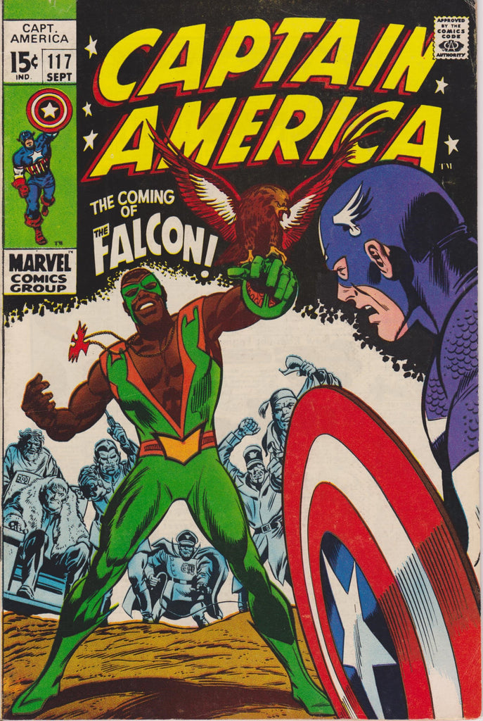 1st Appearance The Falcon