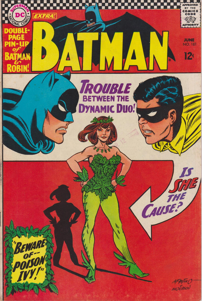 1st Appearance Poison Ivy