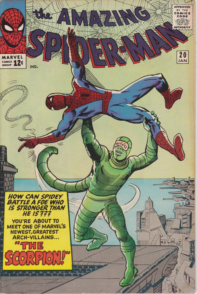 1st  Appearance Scorpion