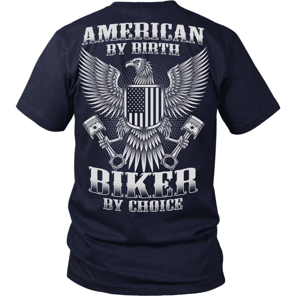 American by birth biker by choice bikerbooth for American choice