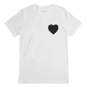 tshirt t-shirt tee streetwear street style fashion blog white health death clothing apparel company mens woman menswear womenswear adventure explore getaway plane airport travel science vibrant colour darkness positivity paranoia rad black heart