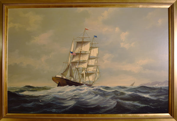 Homeward Bound by Salvatore Colacicco - Tonkin of Nantucket - English and French Antique Furniture and Accessories
