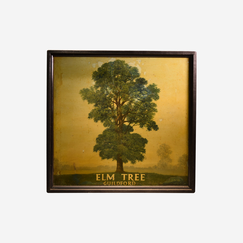 Elm Tree English Pub Sign V-009 - Tonkin of Nantucket - English and French Antique Furniture and Accessories