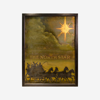 The North Star English Pub Sign (SOLD) - Tonkin of Nantucket - English and French Antique Furniture and Accessories