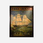 Albion English Pub Sign - Tonkin of Nantucket - English and French Antique Furniture and Accessories
