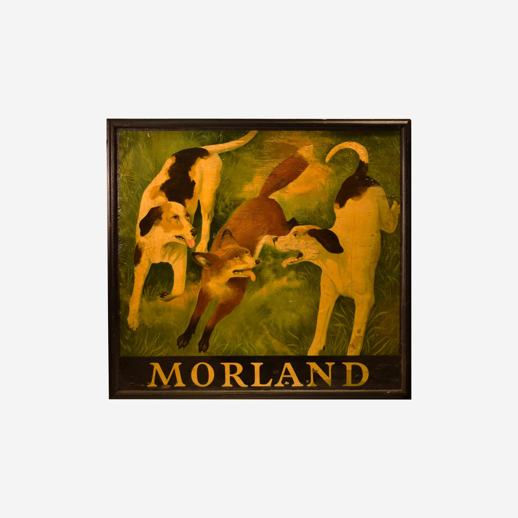 MORLAND (Fox and Hounds) - Tonkin of Nantucket - English and French Antique Furniture and Accessories