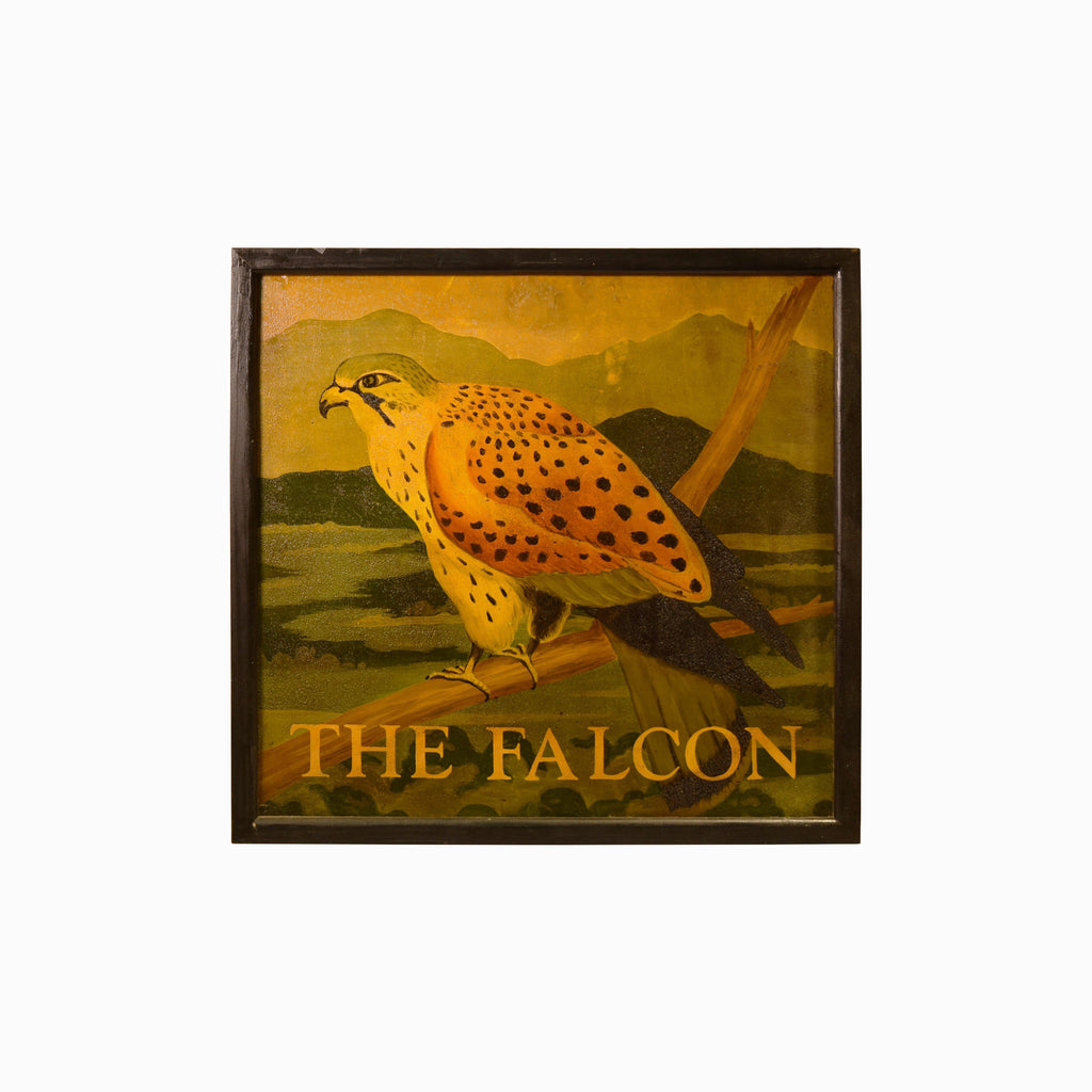 The Falcon English Pub Sign V-003 - Tonkin of Nantucket - English and French Antique Furniture and Accessories