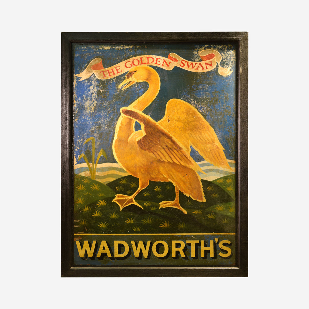 Wadworth's English Pub Sign - Tonkin of Nantucket - English and French Antique Furniture and Accessories