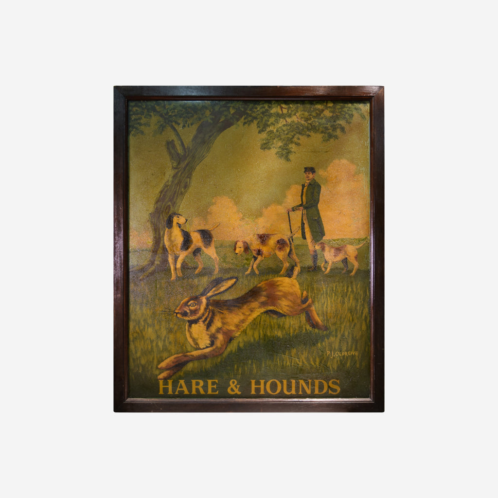 Hare and Hounds - Tonkin of Nantucket - English and French Antique Furniture and Accessories