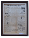 Newspapers - Tonkin of Nantucket - English and French Antique Furniture and Accessories