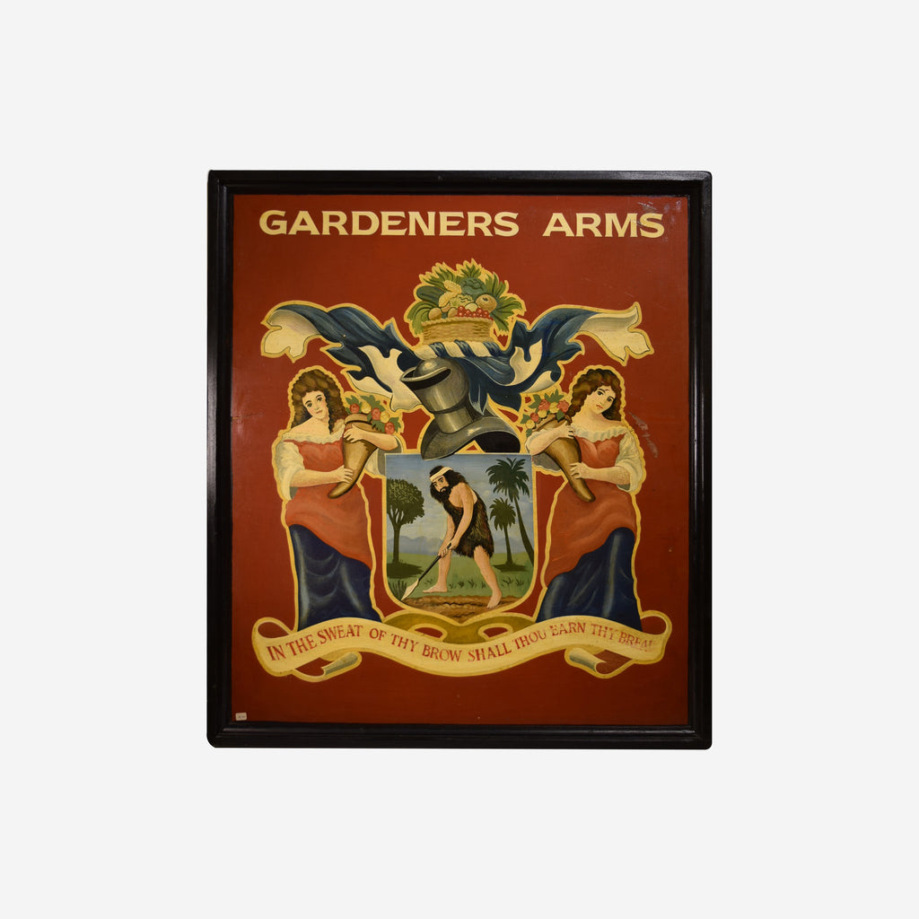 Gardners Arms English Pub Sign K-501 - Tonkin of Nantucket - English and French Antique Furniture and Accessories