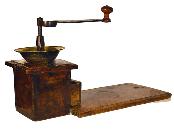 Coffee Grinder - Tonkin of Nantucket - English and French Antique Furniture and Accessories