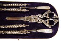 Silverware - Tonkin of Nantucket - English and French Antique Furniture and Accessories