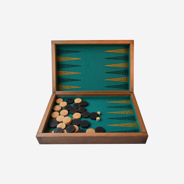 Game Box • Backgammon and Draughts - Tonkin of Nantucket - English and French Antique Furniture and Accessories