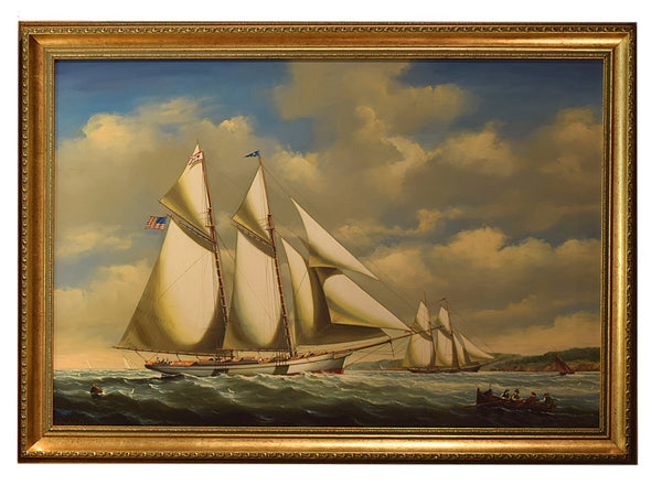 Marine Paintings - Tonkin of Nantucket - English and French Antique Furniture and Accessories