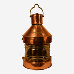 Copper Masthead Metcorne Maker Ship's Light - Tonkin of Nantucket - English and French Antique Furniture and Accessories