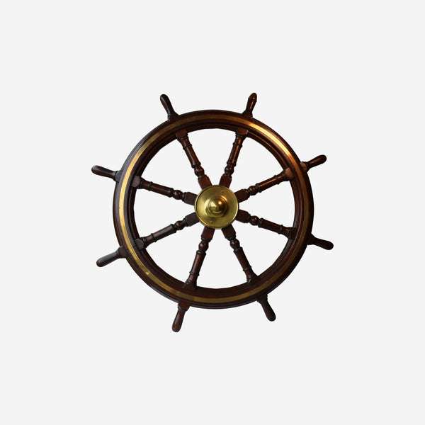 Ships Wheel (SOLD) - Tonkin of Nantucket - English and French Antique Furniture and Accessories