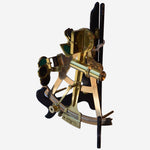 Brass Sextant by B. McGregor & Company, Glasgow - Tonkin of Nantucket - English and French Antique Furniture and Accessories