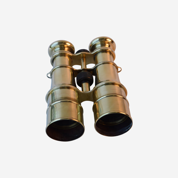 Brass 3 WAY Switch Binoculars WITH SUN SHIELDS - Tonkin of Nantucket - English and French Antique Furniture and Accessories
