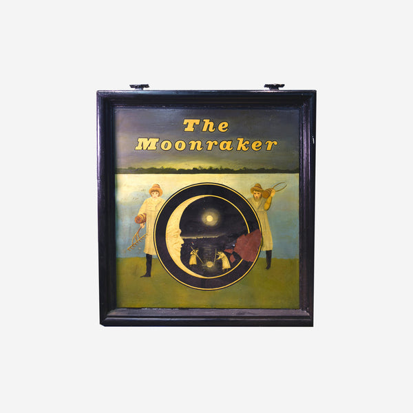 The Moonraker English Pub Sign M-473 - Tonkin of Nantucket - English and French Antique Furniture and Accessories