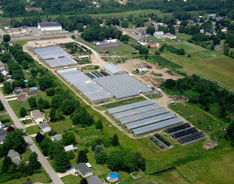 Stan's Garden Center Aerial View