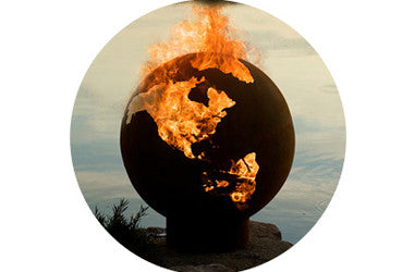 Captivating The Globe Fire Pit
