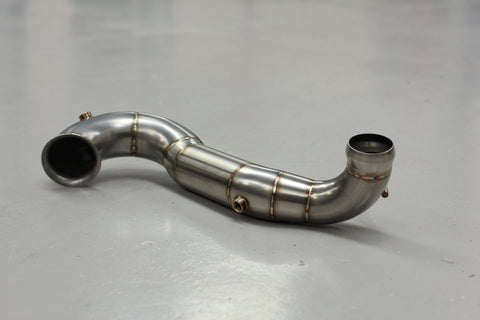 Mercedes A45 AMG decat downpipe