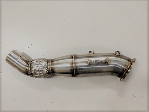 "JB4shop RACE 4.5"" M140i and M240i Decat Downpipe"