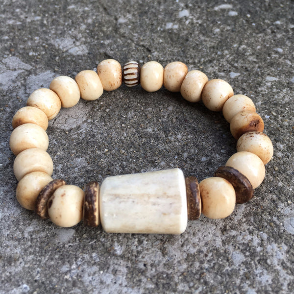Antler Bracelet | Neutral - burnmark