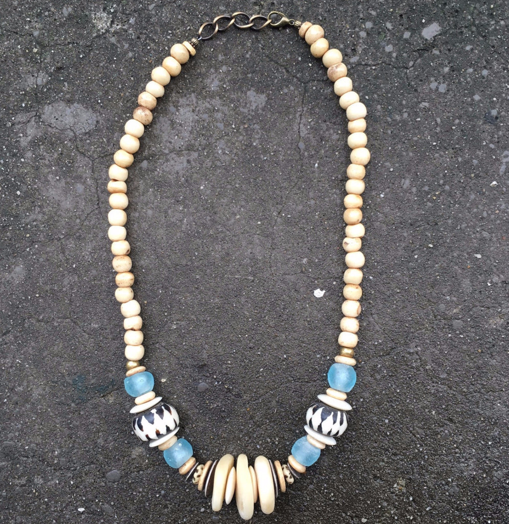 Leroy Necklace | Caribbean - burnmark