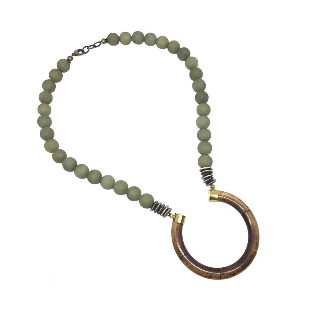 Perry Necklace | Sage - burnmark