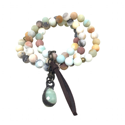 Amazonite Stack | Mint - burnmark