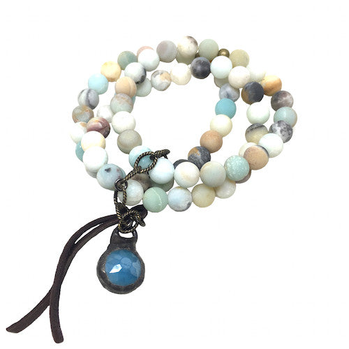 Amazonite Stack | Blue - burnmark