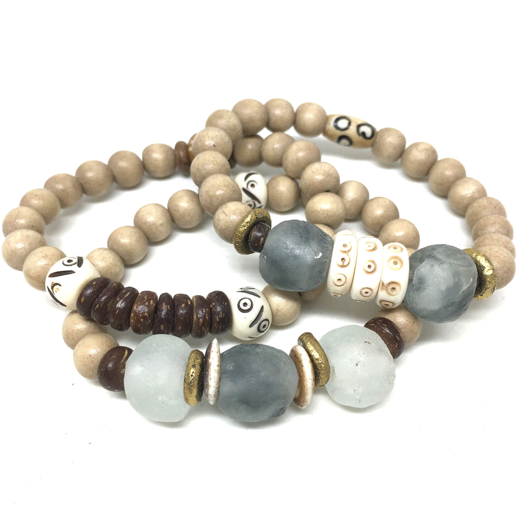 Tribal Bracelet Stack | Storm - burnmark