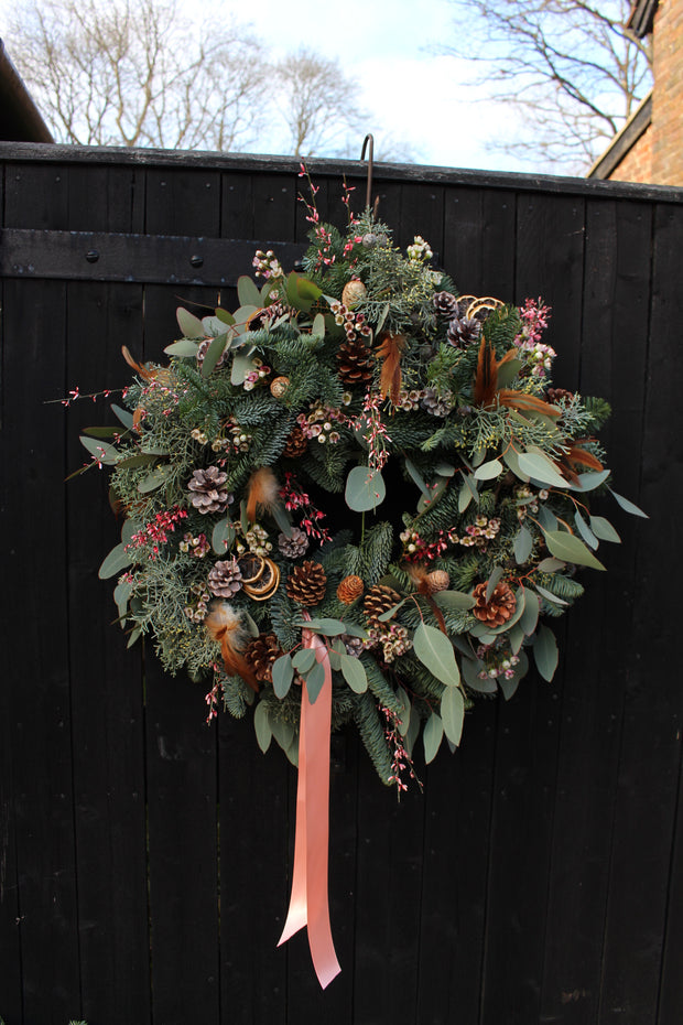 Wreath, moss & pine MARGO