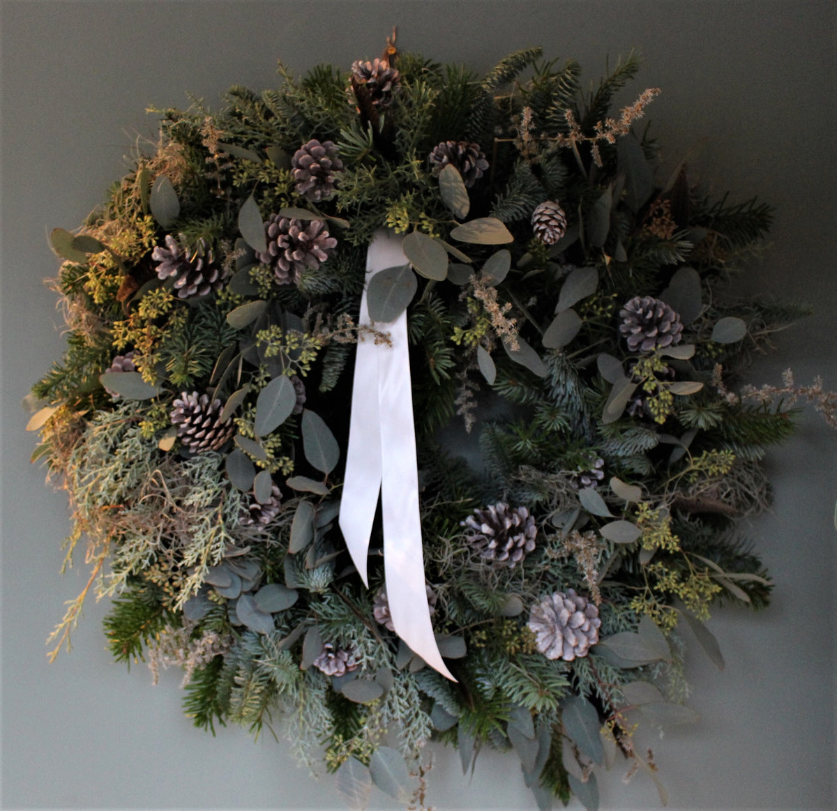 Wreath, moss & pine GINNY SOLD OUT!
