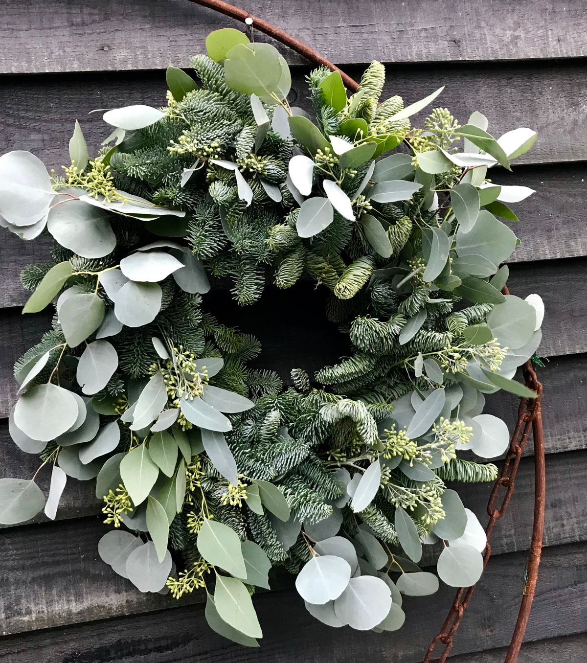 Eucalyptus door wreath