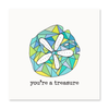 The Happy Sea - You're a Treasure Greeting Card