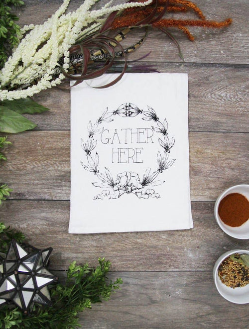 The Coin Laundry - Gather Here Kitchen Towel