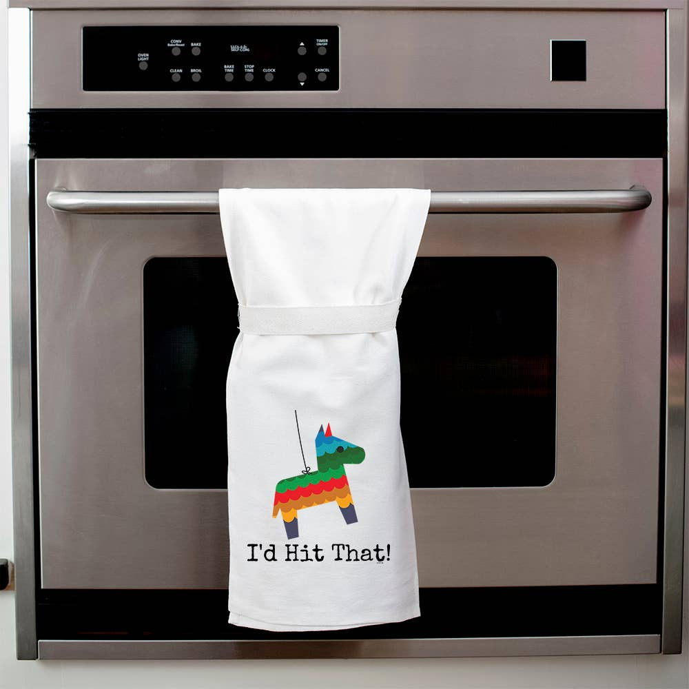 Twisted Wares - I'd Hit That! Kitchen Towel