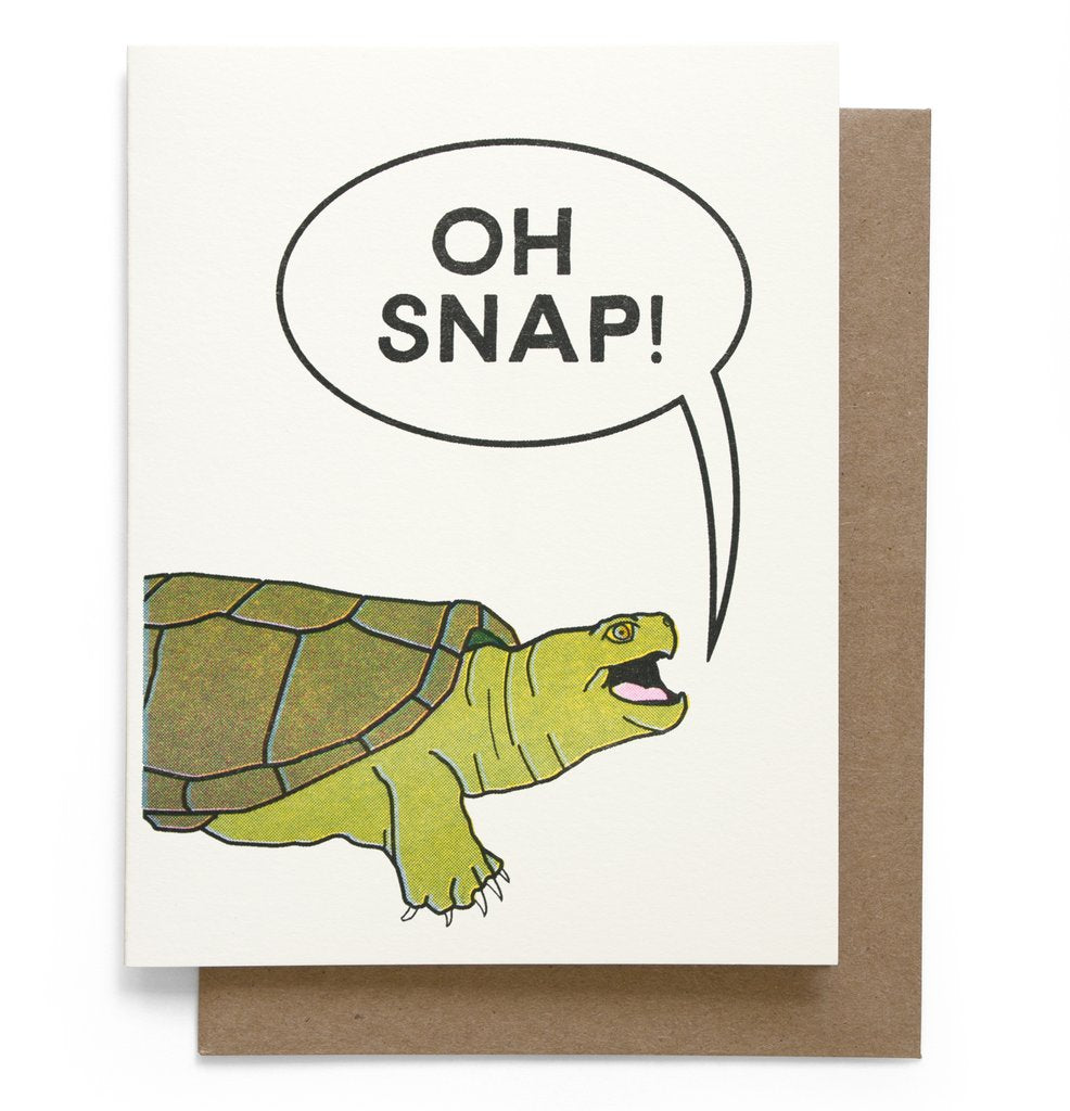 Smarty Pants Paper - Oh Snap Greeting Card