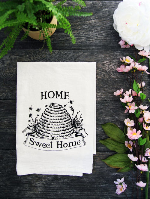 The Coin Laundry - Home Sweet Home Cotton Kitchen Towel