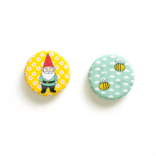 Smarty Pants Paper - Garden Gnome Magnets