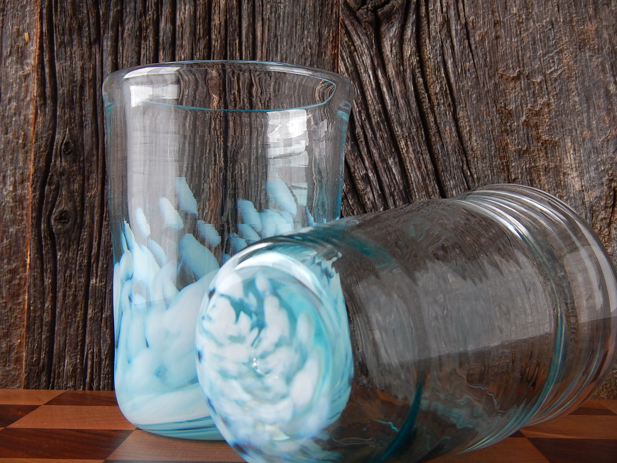 Beer Glass or Stemless Wine Goblet Glassblowing Class (1 Piece)