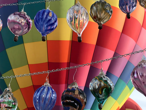 Hot Air Balloon Glassblowing Class (1 Piece)