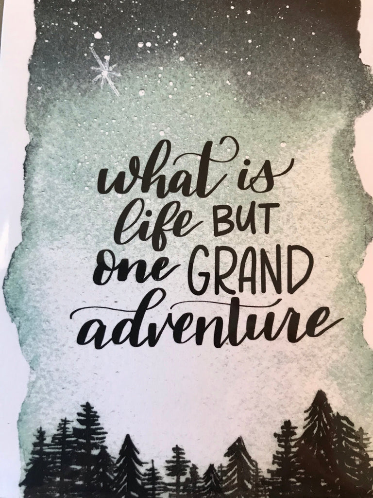 Your Creative Adventure - Grand Adventure Greeting Card