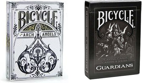 """The Guardian Angel"" Archangel and Guardians Playing Cards by Bicycle"
