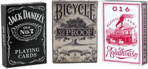 """Drink Up"" 3-Deck Set Playing Cards by Bicycle/Ellusionist"