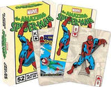 Marvel the Amazing Spider Man Retro Playing Cards by Aquarius