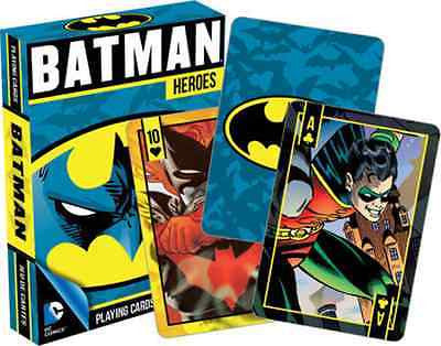 Batman Heroes Playing Cards Deck by Aquarius